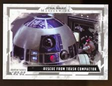 2017 Star Wars Masterwork Adventures of R2-D2 #AR6 Rescue from Trash Compactor