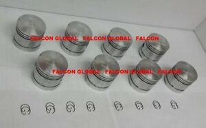 "Federal Mogul Cast Pistons+Rings Ford/Mercury 239 Flathead V8 1939-53 +.030"""