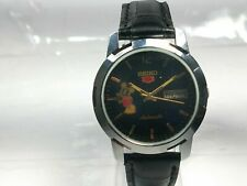Vintage  Seiko  Automatic Movement Day Date Analog Dial Wrist Watch N128