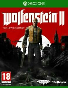 Wolfenstein II 2 The New Colossus (Xbox One) XBOX X ENHANCED Classic Game NEW