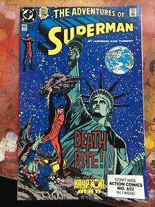 Adventures of Superman (1987) grade 3-5#465,466,467,470,472,473,474,475,476,478,