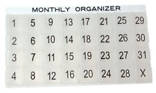 Monthly Organizer System - Item 352