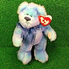 Rare Ty Attic Treasures Azure The Bear Retired Jointed Plush Teddy MWMT