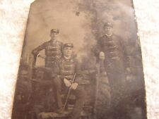 Possible Vintage Military Tin Type Photograph Hussar