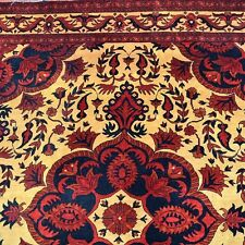 Alfombra colores naturales 100% Lana 180x154cm Marrón Oriental Manta Tapiz