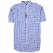 Ralph Lauren Herren Hemd Shirt Freizeithemd Gr.L (wie XL) 100% Leinen Bunt 96451