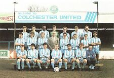 COLCHESTER UNITED FOOTBALL TEAM PHOTO>1986-87 SEASON