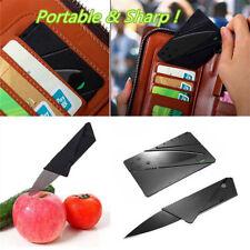 1pc Pocket Knife Steel Credit Card Knife Portable Utility Wallet Knife Safe Tool
