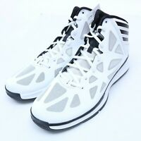 ADIDAS CRAZY SHADOW 2 WHITE BASKETBALL SHOES SIZE 12.5-13