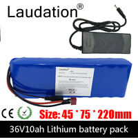 Laudation 36V10ah Electric Bicycle Li-ion Battery 3.7V 21700 10S 2P Battery Pack