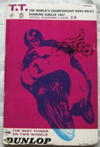 ISLE OF MAN TT Jun 1967 Tourist Trophy Official Programme + Score Card