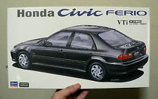 HONDA CIVIC FERIO VTi 1.5 VTEC PGM-F1 1/24 MODEL KIT HASEGAWA JAPAN