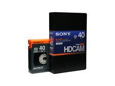 Sony bct-40hd HDCAM (Small) profesional casete de vídeo 40min nuevo (World *) 000-598