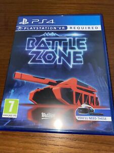 Battlezone PS4 Playstation VR Game (PSVR Required)