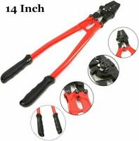 """14"""" Hand Swager Swaging Tool Crimping Tool Fits 1/16"""" 3/32"""" 1/8"""" Wire Rope Cable"""