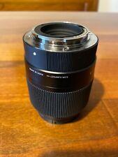 Sigma Obiettivo da 30mm F1.4 DC DN | C, Attacco Sony E-Mount, Paraluce incluso,