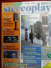 STEREOPLAY 3/95,SONY TA F 707 Es,YAMAHA AX 1070,LOWTHER ACADEMY,FOCAL EXPRESSION