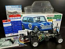 Partial Built Tamiya 1/10 R/C Rover Mini Cooper Kit M03 Chassis Kit ESC+ Hop Up