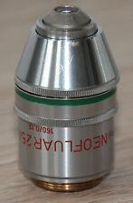 Zeiss Mikroskop Microscope Objektiv Neofluar 25/0,60 Pol (Zeiss Nr. 46 06 28)