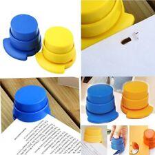 Office Home Staple Stapleless Stapler Paper Binding Binder Paperclip B