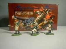 Britains Napoleonic Wars Russian Grenadiers  54mm painted metal in Box​