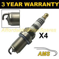 4X DOUBLE IRIDIUM SPARK PLUGS FOR KIA PICANTO 1.0 2004-2011