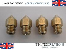4x mk8 extruder (marked) 3d printer Nozzle 0.4mm d403 CTC , ANET A8 ,1.75mm