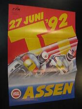 Flyer Lucky Strike TT Assen TT Cuircuit Assen 27 juni 1992