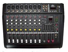 Powermixer 8-Kanal 1300 Watt  NEUES MODELL- 4 Ausgänge , DSP Effekte ....