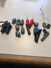 G.I. Joe Or Action Figure Accessories Lot 14 pcs Grenades, Dynamite, and More