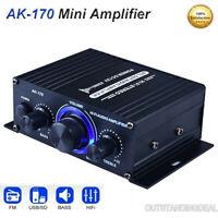 Guangcailun Mini Digital Power Amplifier HiFi TPA3116 Stereo Output 2.0 amplifier 50WX2 TPA3116 Power Channel Audio Amp 50WX2