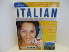 Learn How To Speak Italian With Transparent Language Italian Platinum Software