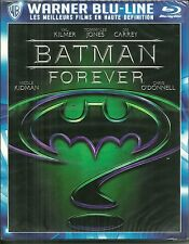 RARE / BLU RAY - BATMAN FOREVER avec VAL KILMER, JIM CARREY ( NEUF EMBALLE )