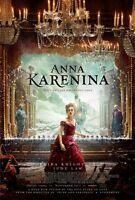 Poster Anna Karenina Leo Tolstoy Keira Knightley Jude Law Film Photo #10