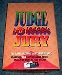 JUDGE 'N' JURY The Game of Trials and Tribulations, NIB