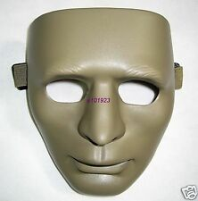 New Airsoft Man Face Plastic Mask Tan