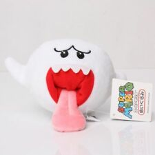 Super Mario Brothers Boo Ghost White Stuffed Figure Plush Doll Toy New US SHIP