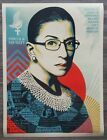 Shepard Fairey Obey Giant A Champion Of Justice 18x24 Poster Signed #/500 RBG