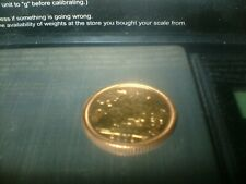 More details for half sovereign coin 22ct gold genuine dated 2001 weighs 4gm excellent condition