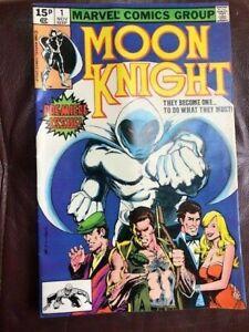 MARVEL MOON KNIGHT VOL.1 #1 Premier Issue November 1980 VF/NM