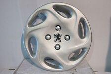 """Peugeot 206 14"""" Chrome Badge Wheel Trim PEU 415CAT"""