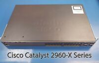 Cisco Catalyst 2960-X Series 24 Port Gigabit Managed Switch WS-2960X-24TS-L
