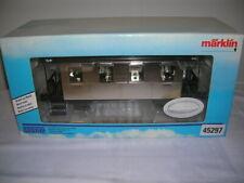 Märklin 1 Metal 45297 Maxi Schwäbischer Vagones Edición Especial Niquelado