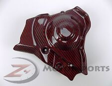 2009-2014 Aprilia RSV4 RSV 4 Engine Sprocket Chain Case Cover Carbon Fiber Red