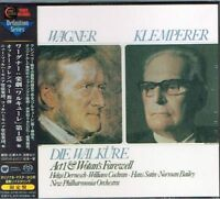 Wagner Die Walkure Act I & Wotan's Farewell Otto Klemperer Japan SACD NEW/SEALED