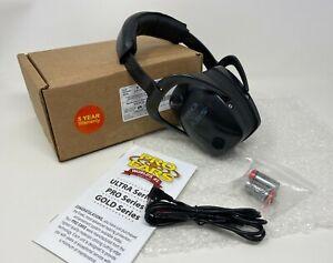 Pro Ears® PRO-TAC SLIM GOLD™ Electronic Amplified CONTOURED Earmuff NRR 28 Black