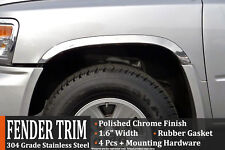 2005-2014 Dodge Dakota Polished Stainless Steel Fender Trim Wheel Molding
