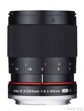Samyang Reflex f/6.3 300mm ED UMC CS DSLR for Olympus FT - CLERANCE SALE !!!