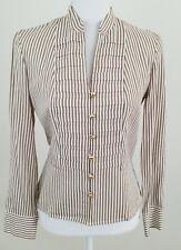 Jones New York Signature~Women's Size S~Dress Career Shirt Striped Long Sleeve.
