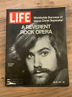 LIFE MAGAZINE May 28th 1971 // Chris Brown Jesus Christ Superstar // Great Ads